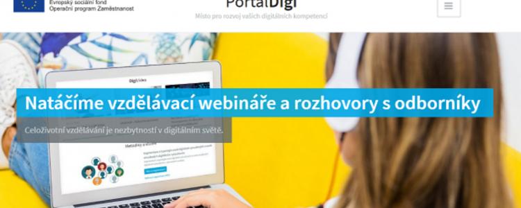 Rozvíjíme vaši digitální gramotnost. Sledujte naše videa
