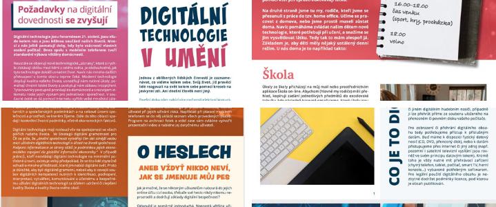 Digitální kompetence v souvislostech. Každý měsíc v novém DigiZpravodaji