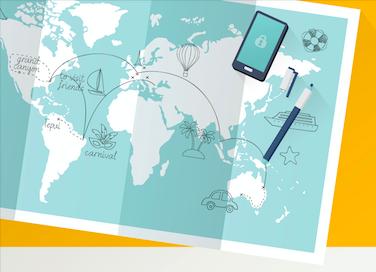 Infografika: Jak cestovat pohodlně, snadno a rychle díky digitálním technologiím?