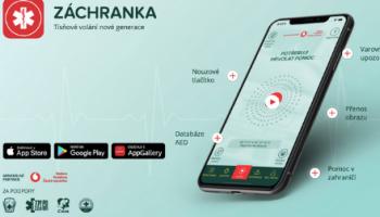 Když popis místa nehody nestačí: aplikace Záchranka přináší videopřenosy