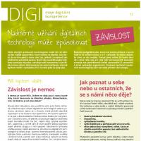 Nadměrné užívání digitálních technologií může způsobovat závislost