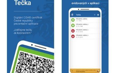 Tečka za Covidem: mobilní aplikace jako váš doklad bezinfekčnosti