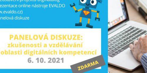Online setkání v rámci roadshow projektu DigiKatalog (6.10.)